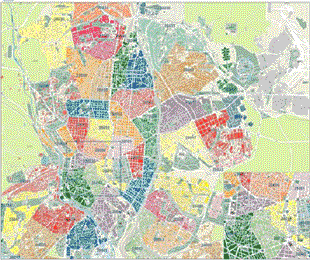 Buzoneo en madrid buzoneo reparto de folletos distribucion for Mapa de codigos postales de madrid capital